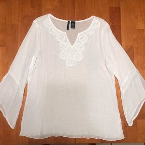 New Directions White Blouse